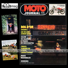 MOTO JOURNAL N°668 ATC YAMAHA 250 TriZ, HONDA XR 350, BOL D'OR, SALON KÖLN 1984