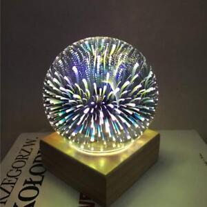 3d-LED-Nachtlicht-USB-Projektor-Lampe-Schmetterling-Feuerwerk-Starry-romantische-Dekor