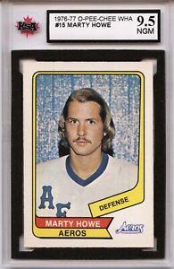 1976-77-O-Pee-Chee-WHA-15-Marty-Howe-Graded-9-5-NGM-100519-46