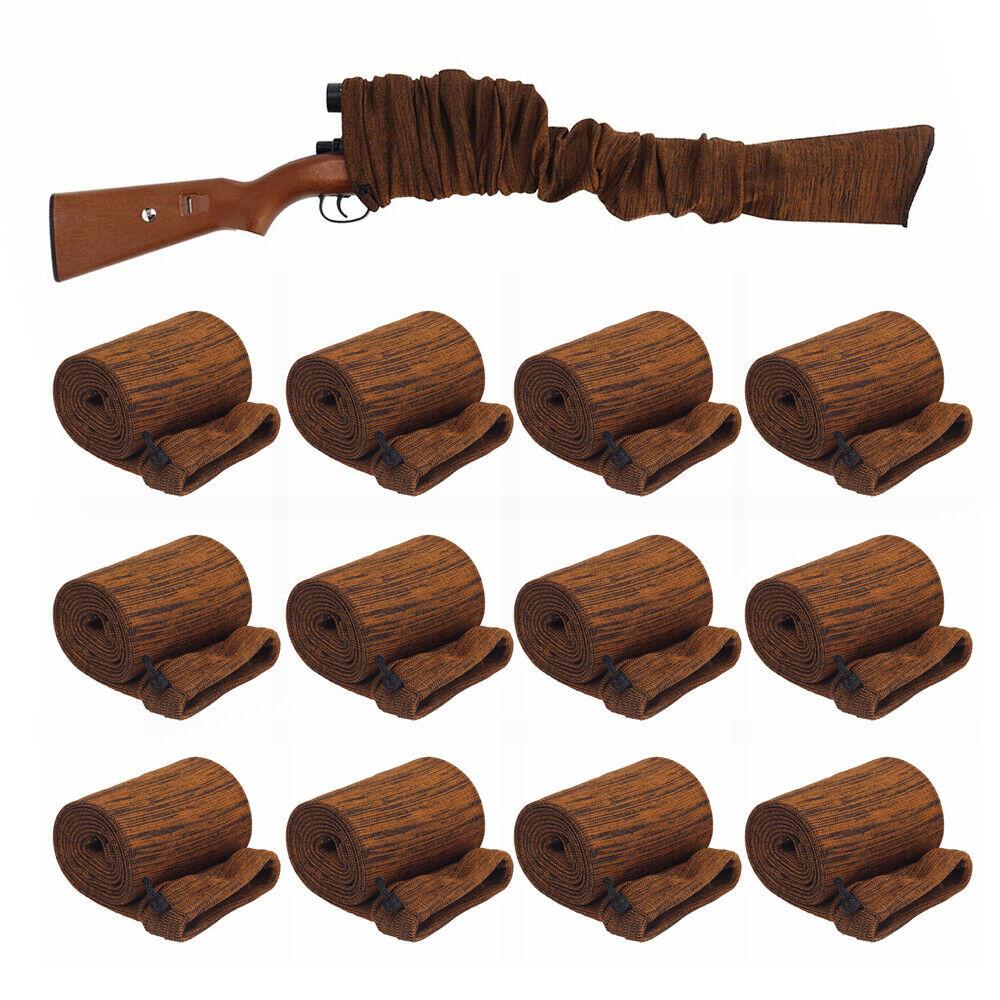 Pistola de caza 12 un. 54  Manga Calcetín silicona caso de almacenamiento de información escopeta rifle tratados