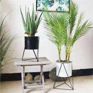 Stand Indoor Garden Decor Flower Planter Display Holder Shelf Metal Plant Pot Ebay