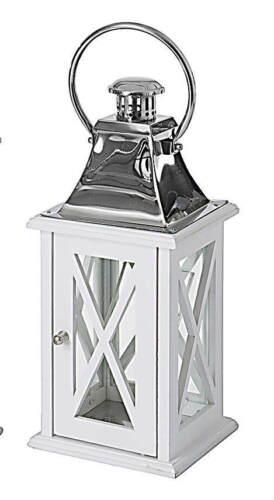 "New Designer Lantern Wood//Steel Large 24/"" Home /& Garden Lighting"
