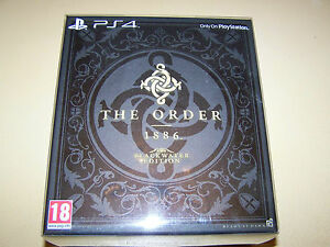 The-Order-1886-Blackwater-Edition-PS4-WITHOUT-OUTER-COVER-New-amp-Sealed
