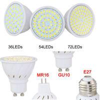 Led Spotlight 3528 SMD E27/GU10/MR16 Cool/Warm/Natural White 4W 6W 8W Light 220V