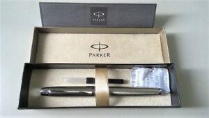 Parker Metal Chrome Trim Fountain pen ( Used )