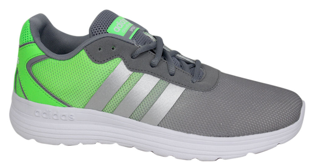 Adidas Neo Cloudfoam Speed Mens Running Trainers shoes Grey Green AQ1433 D106