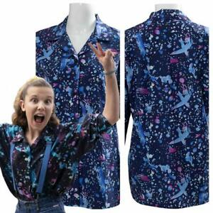 Details About Stranger Things Season 3 Eleven Cosplay Costume T Shirt Halloween Dress Ouifit
