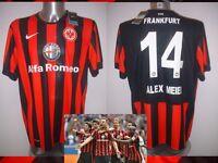 Eintracht Frankfurt Nike Adult Xl Football Soccer Shirt Jersey Meier Trikot