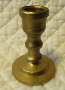 DOLLHOUSE 1:12 Round Base Miniature Pair of Tall Slender SILVER Candlesticks