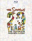 Simpsons Season 20 0024543634881 With Simpsons Blu-ray Region a