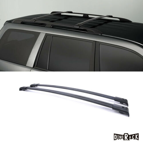 For 03-08 Pilot Blk Aluminum Roof Rack Cross Bars Luggage Cargo Carrier Rails
