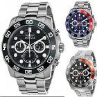 Invicta Men's Pro Diver Quartz Chronograph Stainless Steel Watch