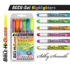 634989890767 G T Luscombe Accu-gel Bible Highliter Study Kit