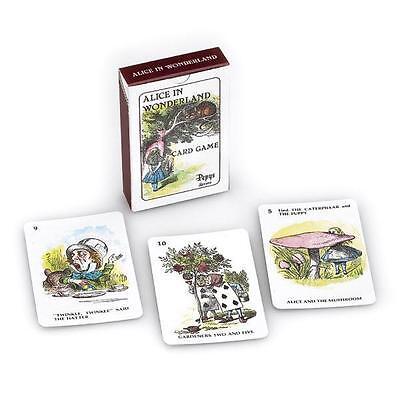 Alice Nel Paese Delle Meraviglie Gioco Di Carte (pepys)-mostra Il Titolo Originale