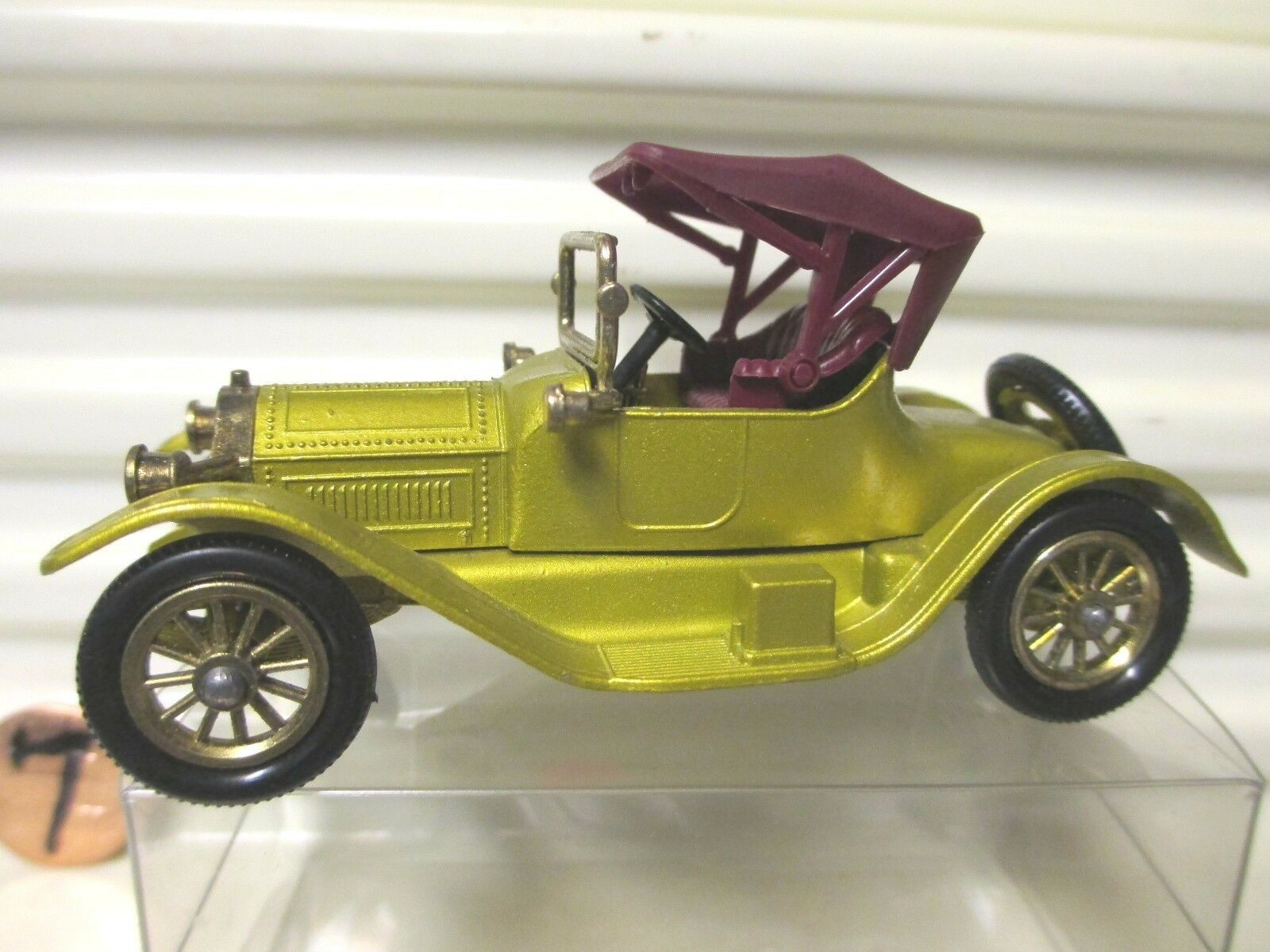 Lesney Matchbox models of yesteryear Y6  1913 or CADILLAC no bodycutouts une base  sortie de vente pas cher en ligne