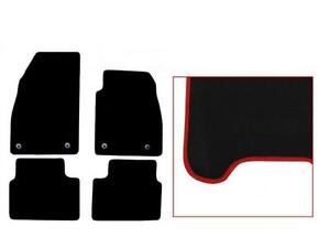 Vauxhall-Insignia-Tailored-Car-Mats-08-13-Black-With-RED-Edging