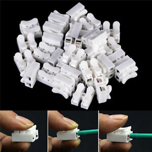 30Pcs-Electrical-Cable-Connectors-Self-Locking-Quick-Splice-Lock-Wire-Terminals