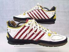 Scarpe da ginnastica Dsquared Taglia 43 UK 9 Authentic Made in Italy Scarpe Da Ginnastica in Pelle