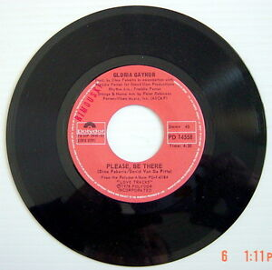 ONE-1978-039-S-45-R-P-M-RECORD-GLORIA-GAYNOR-ANYBODY-WANNA-PARTY-PLEASE-BE-THE