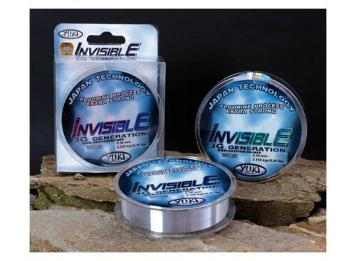 Yuki Invisible 3G Extra Strong Fishing Line 1000m Spool 0.26mm 6.95kg Strength