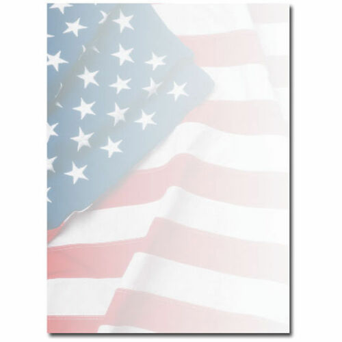 Grand Old American Flag Patriotic 4th July Laser Inkjet Paper 100 Shts OLH704