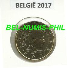 BELGIË 2017 - koning Filip -  50 cent uit de rol/du rouleau - UNC!!!
