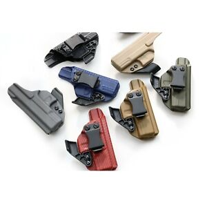 Details about Fits Glock 48: Kydex IWB holster with adjustable ride Height  & Cant +CLAW/ WING