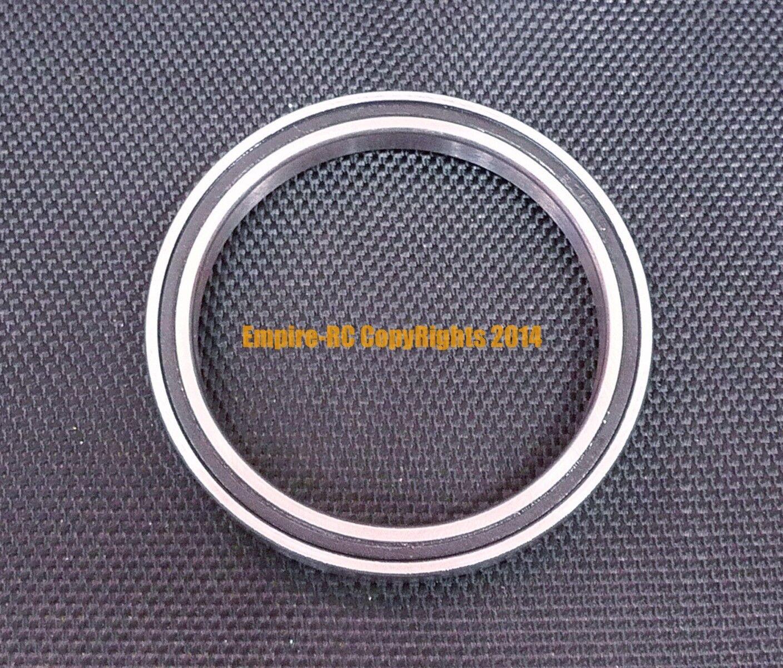 [25 piezas] 6706-2RS (30x37x4 MM) Cojinete de rodamientos de bolas de goma negro 30374 6706RS