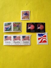 Any and Only (2) USPS Various FOREVER STAMPS postage For 1st Class Mail.