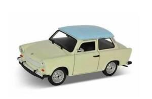 Trabant 601 Cream 1:24 Model 24037CR WELLY