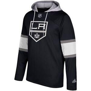 Adidas-Men-039-s-Pullover-Hoodie-NHL-LA-King-039-s-Hockey-Jersey-CB7312-Size-S-2XL