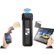 Black 32GB Wireless WiFi USB Flash Drive Memory Stick Pen For iOS Android iPhone