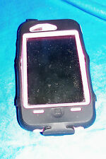 Apple I Phone Model No. A1303 Cell Smart Portable Pink Otter Box Mac Macintosh