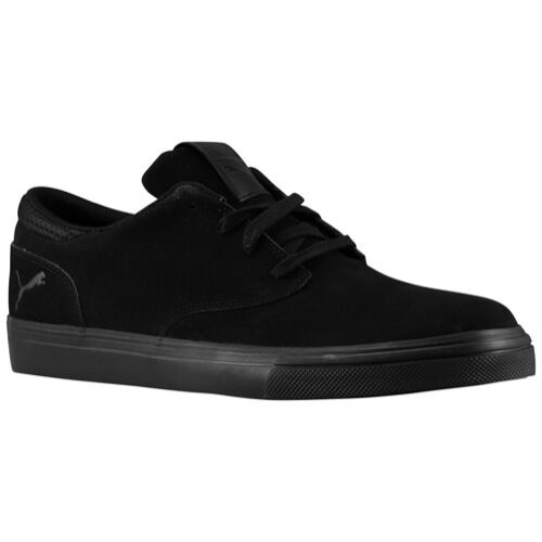 NEW   PUMA El SeeVo Homme Chaussures Sz  CASUAL Noir SEUDE 356687 02 FAST SHIP
