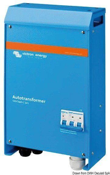 Auto Transformator 120/240V-100A Blau Marke Victron energy Blau 120/240V-100A power 14.264.11 36408f