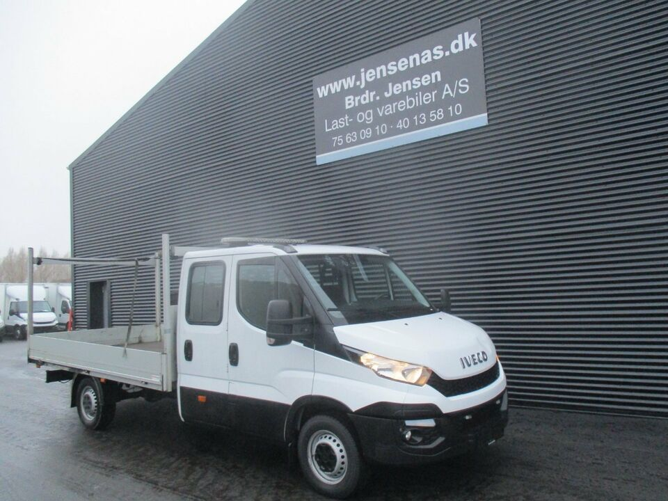 Iveco Daily 2,3 35S15 Mandskabsvogn Chassis Diesel