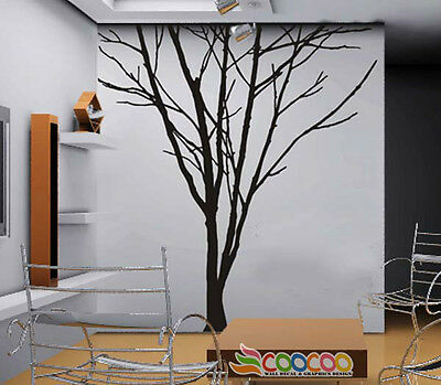 """Wall Decor Decal Sticker Removable large 78"""" tree trunk"""