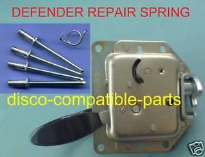 Details about Land Rover Defender Safari Door Lock Repair Spring Kit