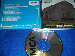 ULTRA-RARE-CD-album-Heritage-quebecois-au-QUEBEC-Artistes-varies-MCAMD-10159-mca