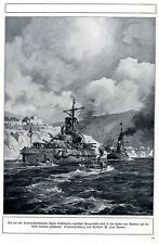 En los dardanellenkämpfen dañado tanques nave se tras traído Lemos