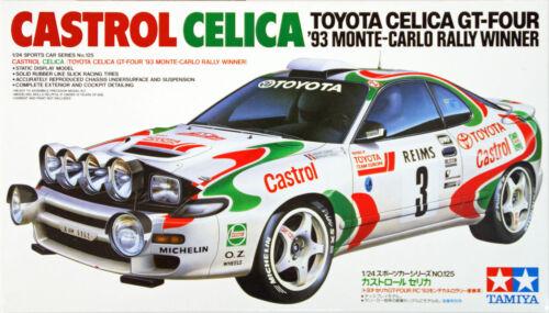 Tamiya 24125 Castrol Celica 1//24 scale kit