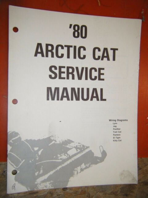 1980 Arctic Cat Snowmobile All Models Wiring Diagram