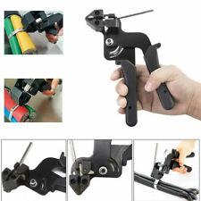 Metal Cable Tie Gun Fasten Pliers Crimper Tensioner Tool Amp Cut Off Cable Ties