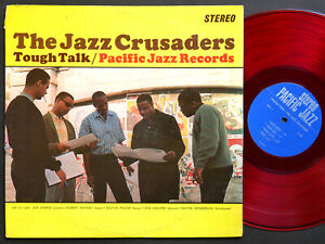 JAZZ-CRUSADERS-Tough-Talk-LP-PACIFIC-JAZZ-ST-68-US-1963-RED-WAX-Joe-Sample