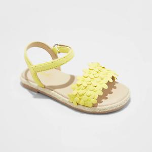 Toddler Girls' Elvie Espadrille Sandals - Cat & Jack- Yellow