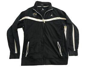Nike-Dri-Fit-Jordan-Track-Jacket-Black-And-White-Big-And-Tall-Size-Large-LT-Logo