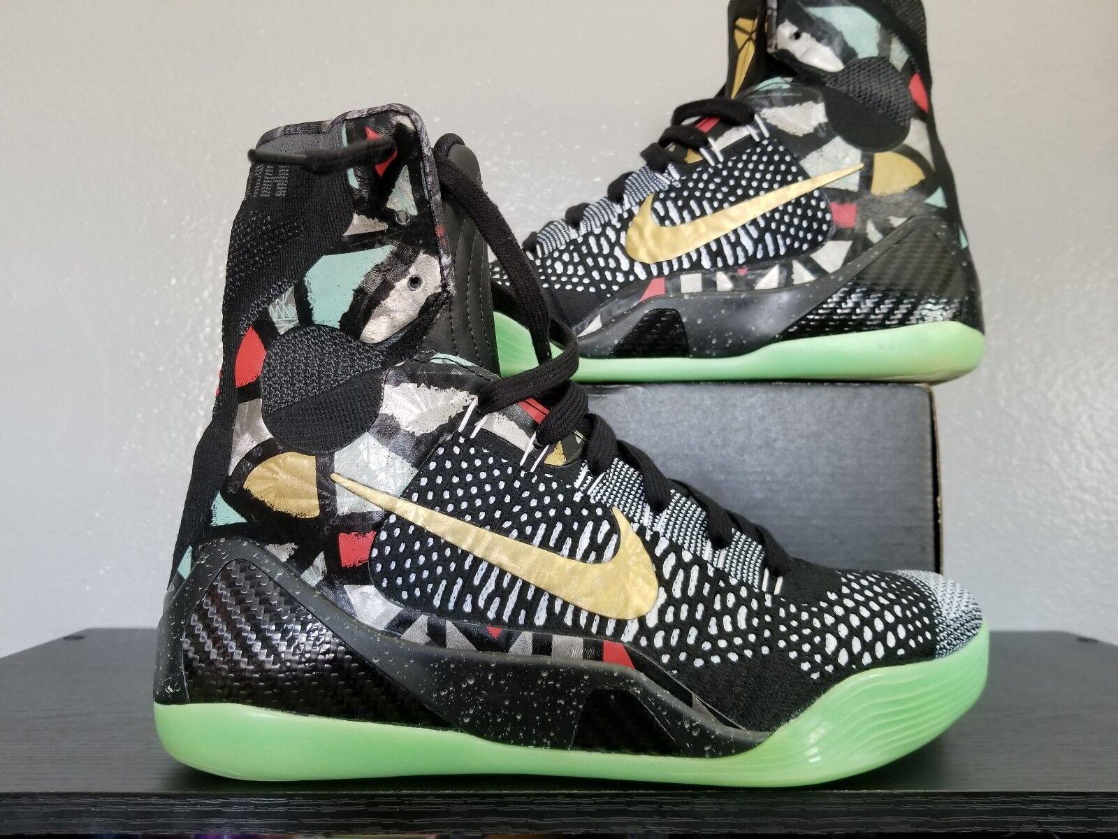 Nike kobe ix 9 elite nba all - star gumbo 630847 002 sz 10 lakers bryant mamba