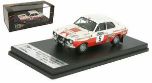 Trofeu Rruk02 Ford Escort Mk I 'will' Embassy 'Rac 1971 - Roger Clark 1/43 Échelle 5601673590222
