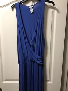 Details about Hard Tail Forever Plus Size 2X Royal Blue Maxi Dress