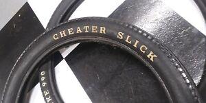 Used-Huffy-Rail-Slingshot-RWL-XKE-Slick-Muscle-Bike-Bicycle-Tire-Set-see-descri